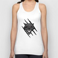 hakuna Tank Tops featuring WOLF and ClAW by alexa