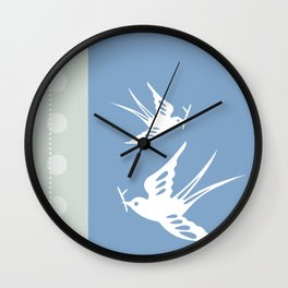 Your indies swallows Wall Clock