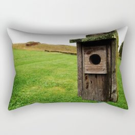 Abandoned Home Rectangular Pillow
