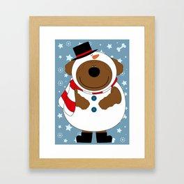 SnowWan Framed Art Print