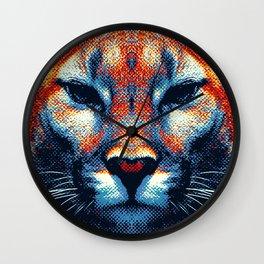 Puma -  Colorful Animals Wall Clock