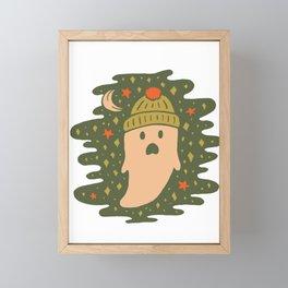Winter Ghost Framed Mini Art Print