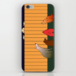 At The Bad Time On The Bad Place iPhone Skin