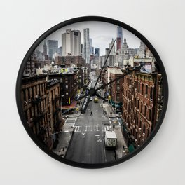 Chinatown of NYC Wall Clock
