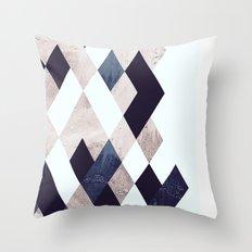 Burlesque texture Throw Pillow