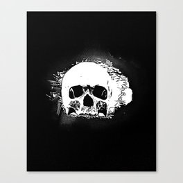Skull Face Canvas Print