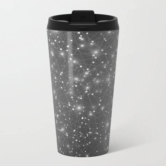 From Point A to Point B Metal Travel Mug