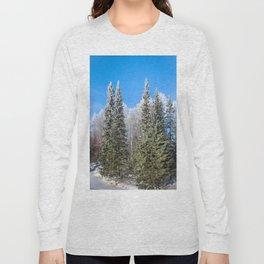 Frozen forest Long Sleeve T-shirt