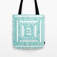 frames Tote Bags featuring Frames by • Amanda Khoo •