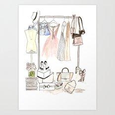 Closet Art Print
