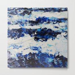 Waves I Metal Print