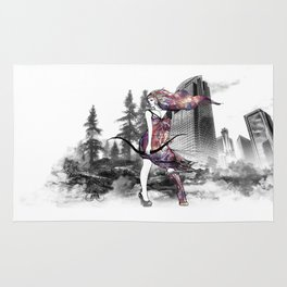 "Barbarica ""Barbarian Warrioress"" Rug"