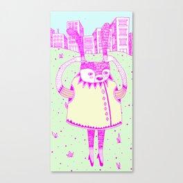 I wanna go Canvas Print
