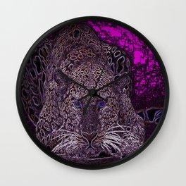 Valentino Leopard Wall Clock