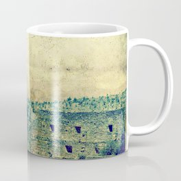 Vintage forgotten town in the desert Coffee Mug
