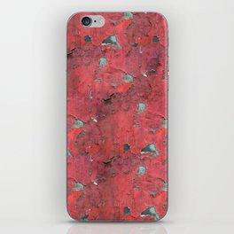 Rust, retro metal texture iPhone Skin