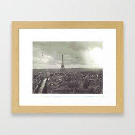 Franci Framed Art Print