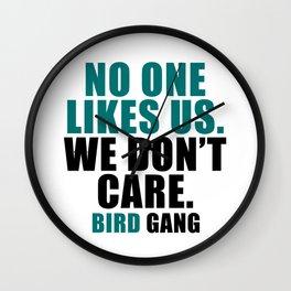 No one likes us. Wall Clock