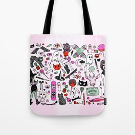 CREEPY CRUISERS Tote Bag