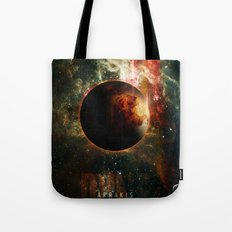 DUNE Planet Arrakis Poster Tote Bag