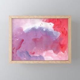 Floating in unreality Framed Mini Art Print