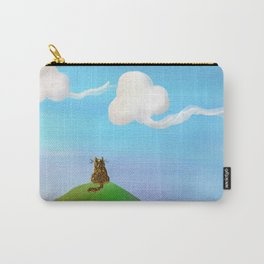 Sunset Kitty Carry-All Pouch
