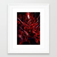 witchcraft Framed Art Prints featuring Witchcraft by Gyossaith