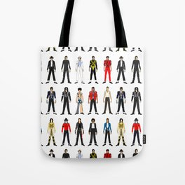 King MJ Pop Music Fashion LV Tote Bag