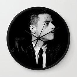 Rami Malek 2 Wall Clock