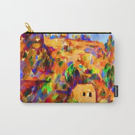 Paul Cezanne House on a Hill Carry-All Pouch
