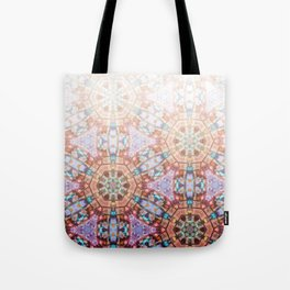 Geometric Ombre Tote Bag