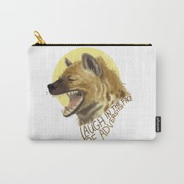 Laugh In The Face Of Adversity Carry-All Pouch