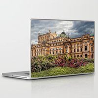 theatre Laptop & iPad Skins featuring Slowacki Theatre in Cracow by jbjart