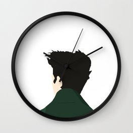 There's a Hole in My Soul Wall Clock