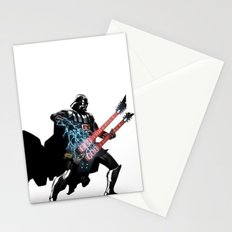 Darth Vader Force Guitar Solo Stationery Cards