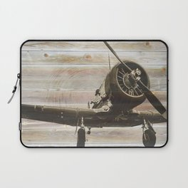 Old airplane 2 Laptop Sleeve