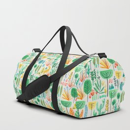 Jungle life with golden unicorn Duffle Bag