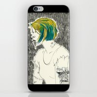 paramore iPhone & iPod Skins featuring Waking from the dead by Marconte