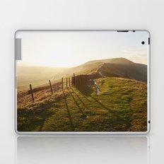 Rushup Edge at sunset. Derbyshire, UK. Laptop & iPad Skin