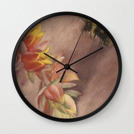 Succulent Delight Wall Clock