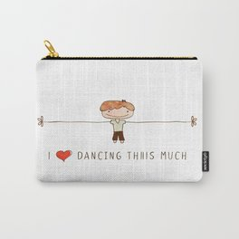 I love dancing boy Carry-All Pouch