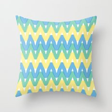 Summer Pattern 1 Throw Pillow