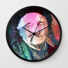 The wise woman Wall Clock