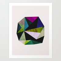 emerald Art Prints featuring Emerald by Georgiana Paraschiv