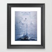 Rocky IV Framed Art Print