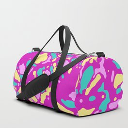 Coral Reef Sunset Glow Duffle Bag