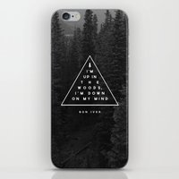 bon iver iPhone & iPod Skins featuring Woods -- Bon Iver by Zeke Tucker
