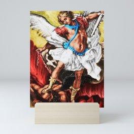 """Archangel Mondays"" Painting by Jeanpaul Ferro Mini Art Print"