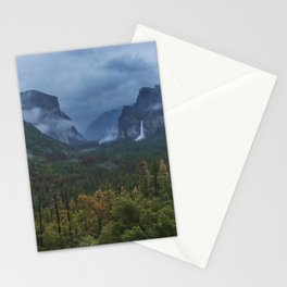 Yosemite Tunnel View Stationery Cards