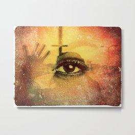 Eye Jean-François Dupuis Metal Print